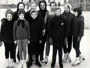 1976 г. ДЮСШ «Строитель», отделение фигурного катания на коньках