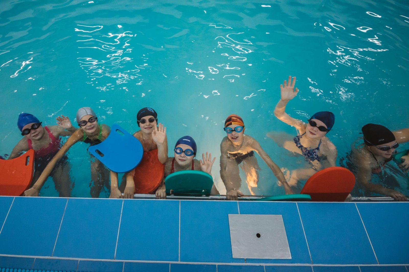 Плавание для детей в Спектре