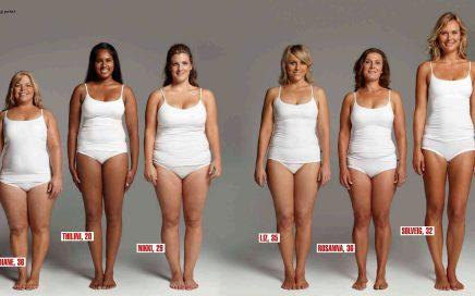 70 кг могут выглядеть по-разному