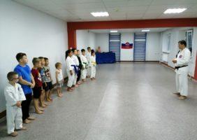 Поздравляем каратистов с присвоением спортивных разрядов