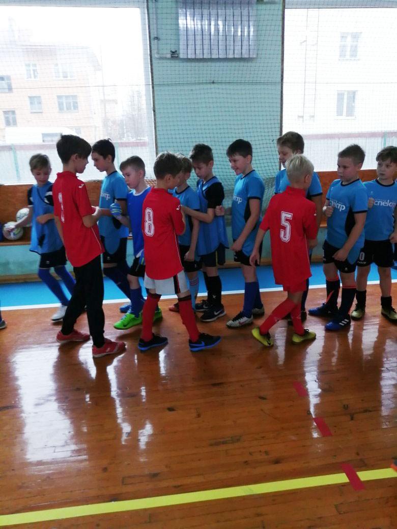 Первенство города по мини-футболу среди мальчишек 2008-2009 г.р.