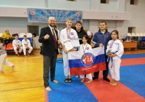 Новые победы бойцов клуба каратэ «Дзаншин»