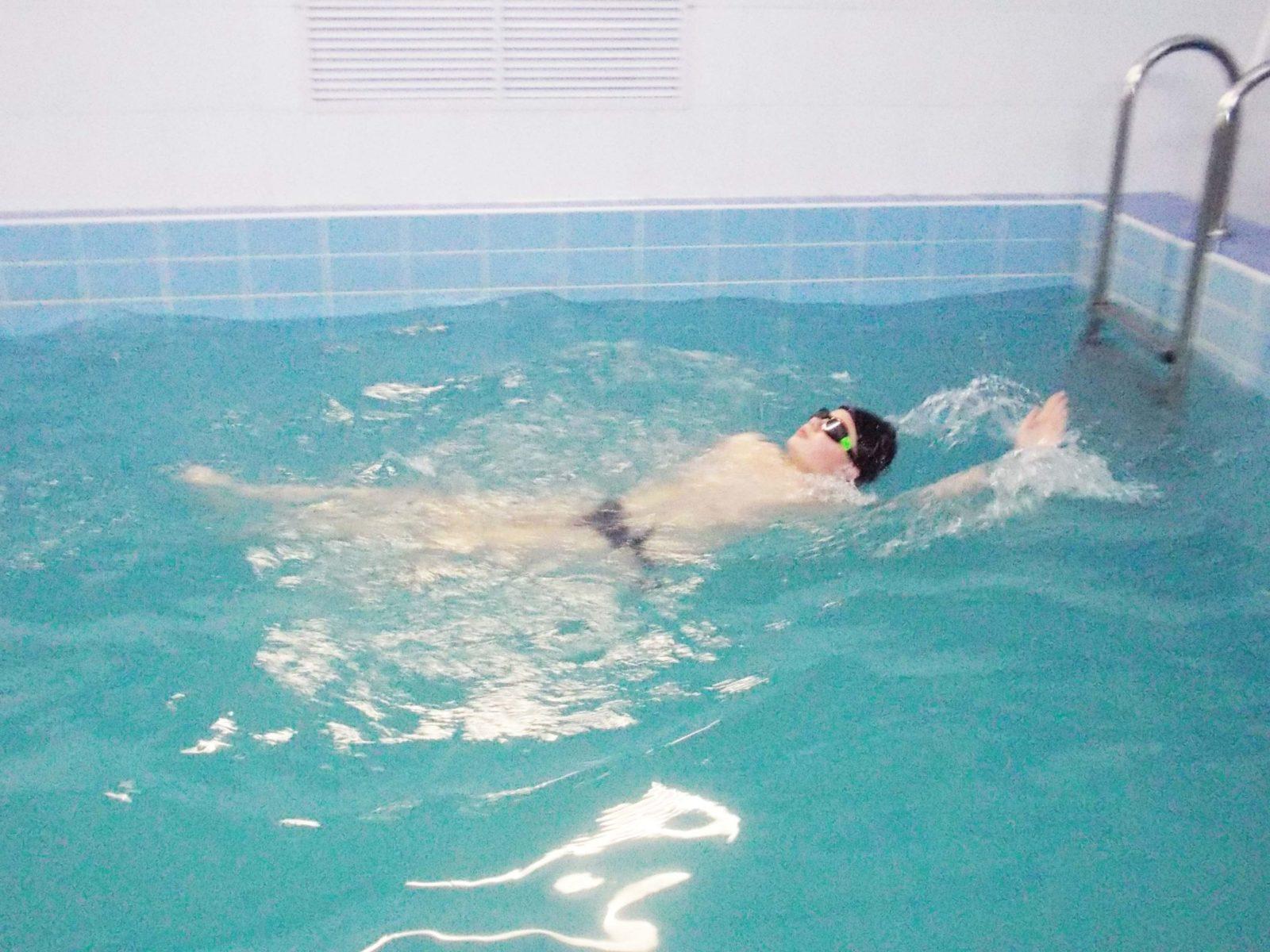 Соревнования по плаванию 22 декабря 2019 г.