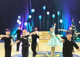 Танцевальный фестиваль «Новогодние звездочки»