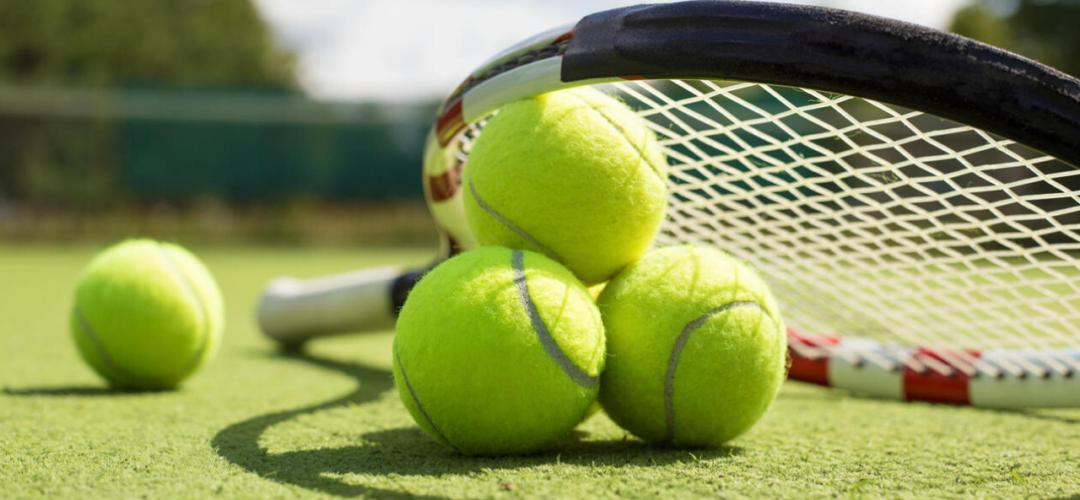 Наши юные теннисистки