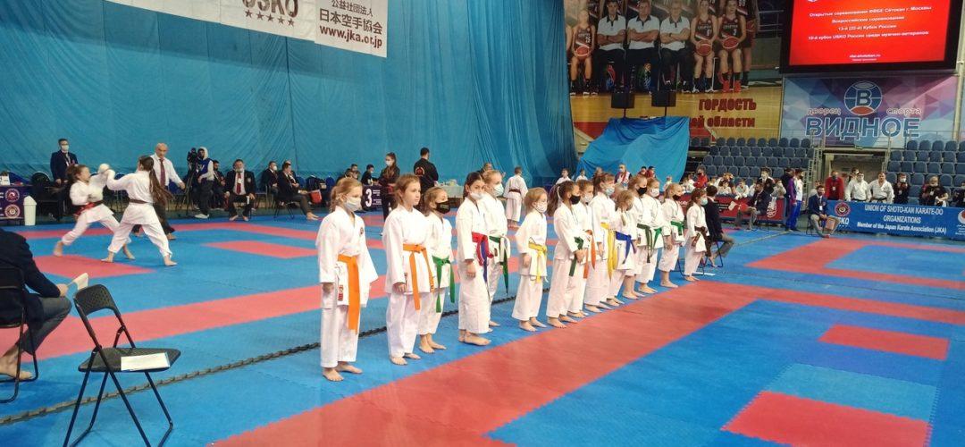 Соревнования по каратэ в г. Видное