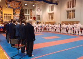 Соревнования по каратэ в г. Череповце