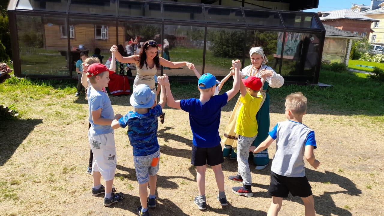 Детские спортивно-развлекательные сборы