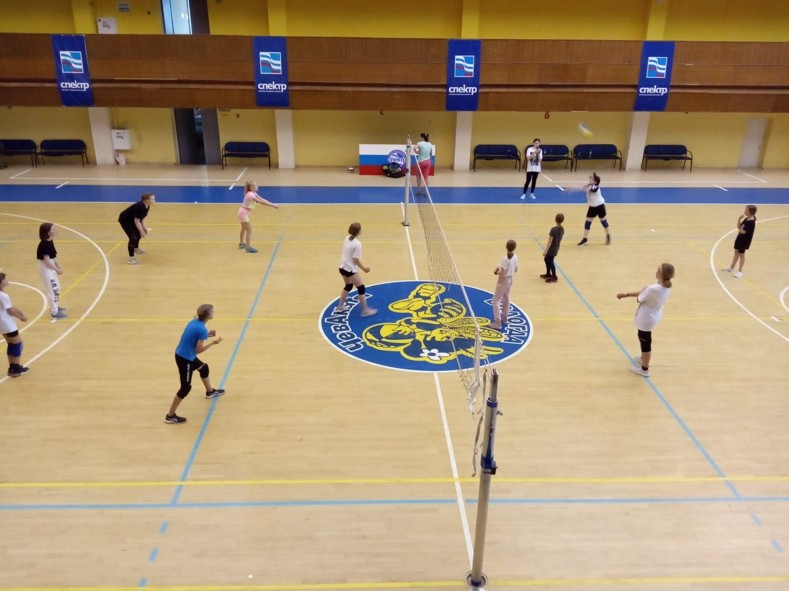 Спортивные сборы по волейболу